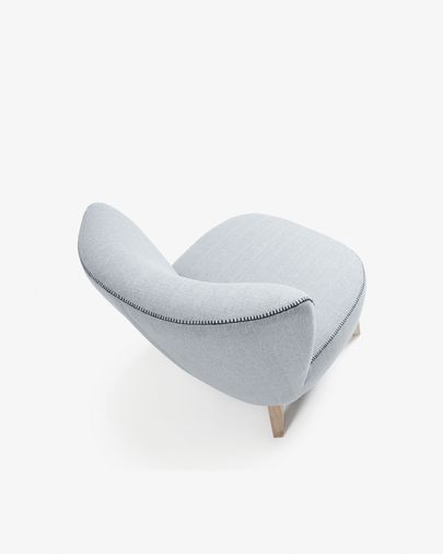 Grey Min armchair