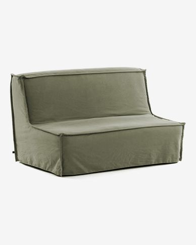 Lyanna sofa bed 140 cm green