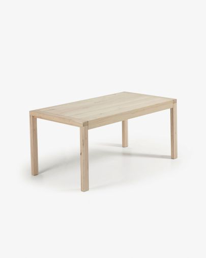 Briva extendable table bleached 180 (230) x 90 cm