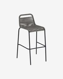 Lambton grey stool height 74 cm