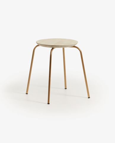 Gold Ren stool