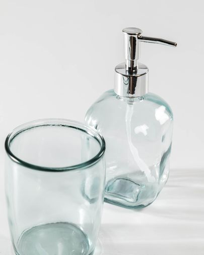 Trella clear soap dispenser