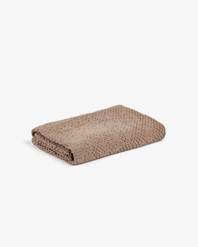 Elna bathroom towel taupe