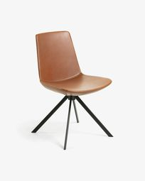 Zeva chair brown