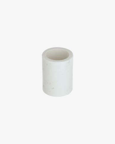 Elenei marble bathroom cup