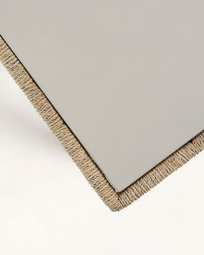 Gilded coffee table 100 x 60 cm