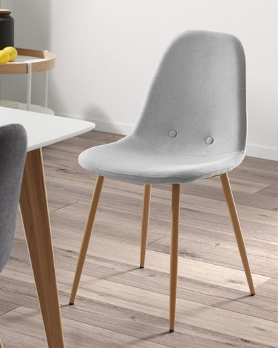 Light grey Yaren chair