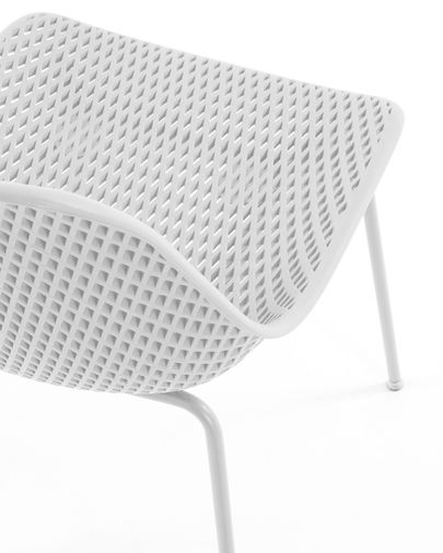 White Quinby chair