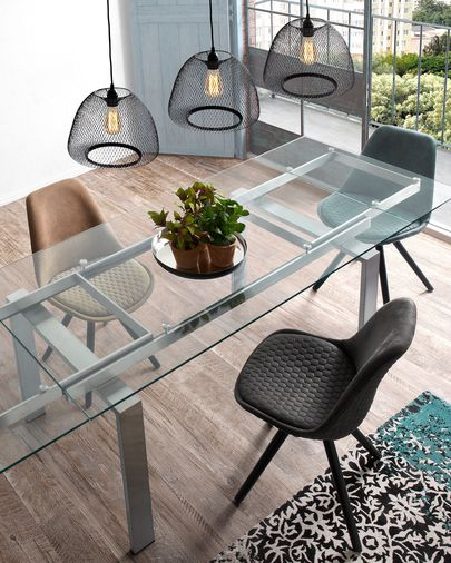 Nara table extensible 160 (240) x 85 cm