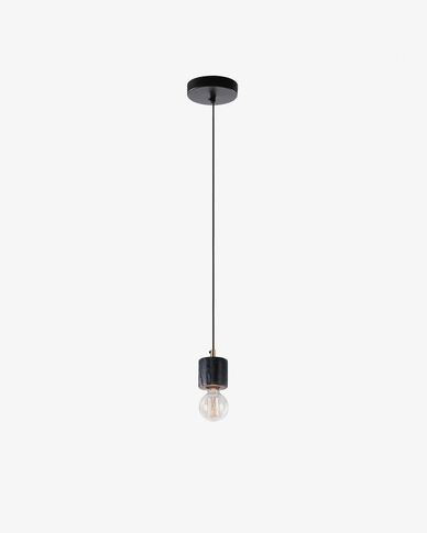 Campus pendant lamp black