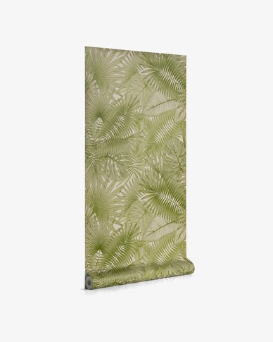 Behang Tropic groen 10 x 0,53 m