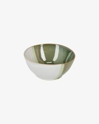 White and green Naara bowl