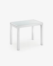 Norfolk extensible table 90 (180) x 65 cm white