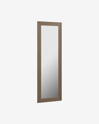 Wilany walnut finish mirror 52,5 x 158,5 cm