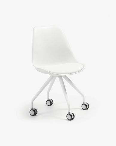 White Ralf desk chair