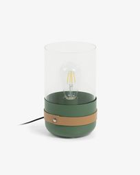 Evelyn table lamp green