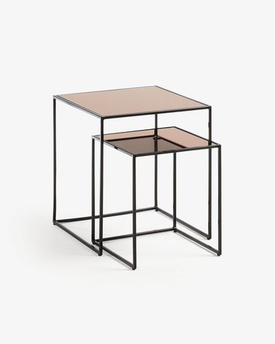 Sute set of 2 side tables