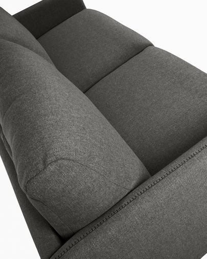 Kymoon sofa bed 140 cm visco graphite