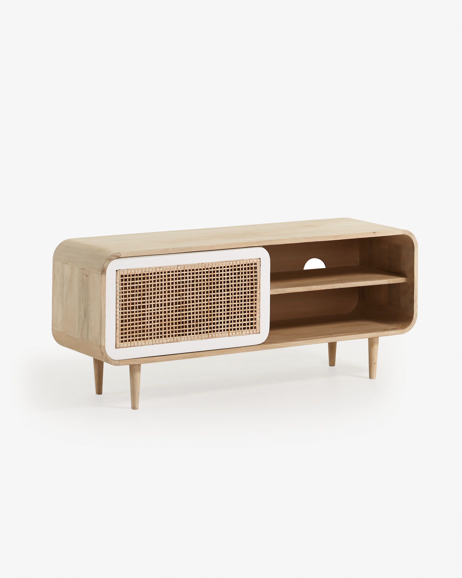 Pro Design Tv Meubel.Georg Tv Stand 120 X 50 Cm Kave Home