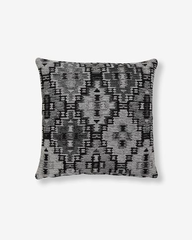 Nazca cushion cover 45 x 45 cm dark grey