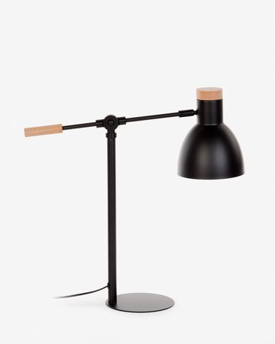 Tescarle table lamp black
