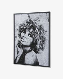 Arsdale wall picture black newspaper
