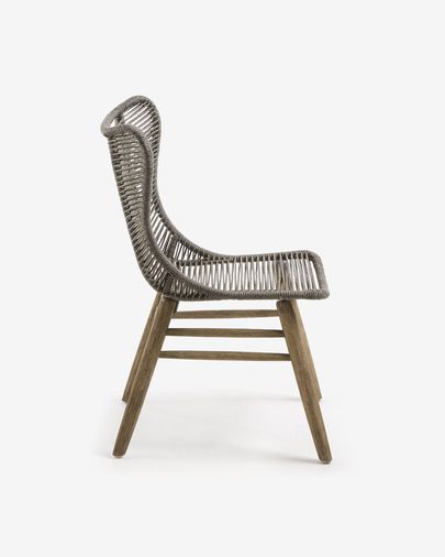 Grey Zabel chair