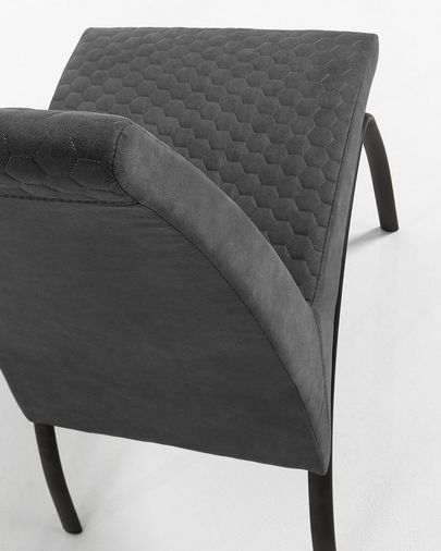 Zana chair graphite