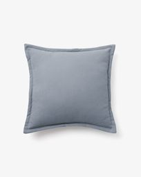 Lisette cushion cover 45 x 45 cm in blue