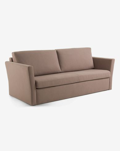 Brown Riverside 140 cm sofa bed