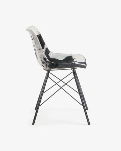 Trent chair black and white