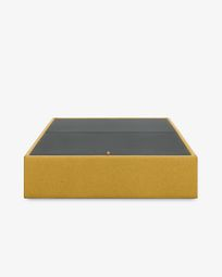 Storage bed base Matter 180 x 200 cm mustard