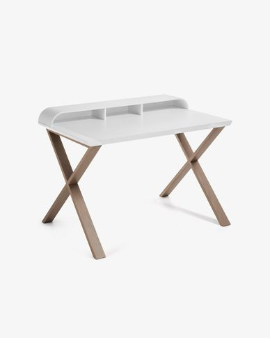 Table de bureau Working 120 x 79 cm blanc