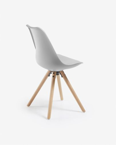 Grey and natural Ralf chair