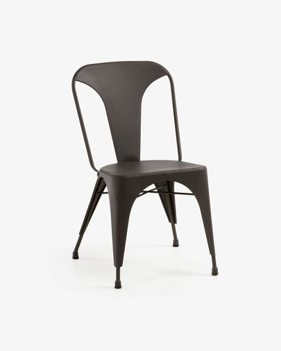 Graphite Malira chair