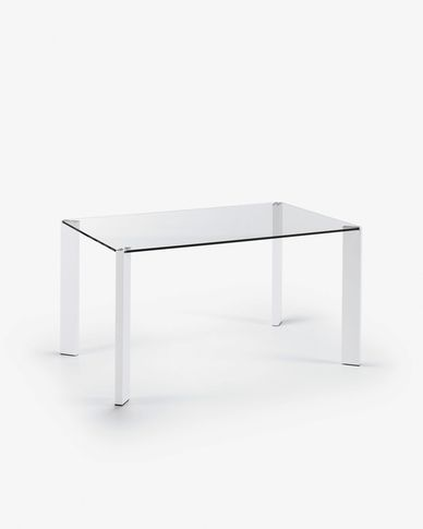 Spot table 140 x 90 cm white
