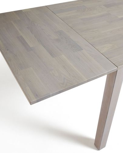 Isbel extendable table 120 (200) x 75 cm bleached