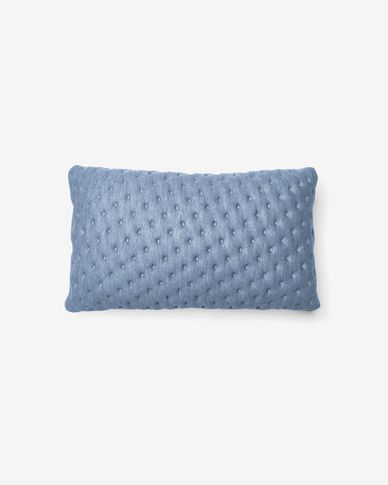 Kam cushion cover quilted 30 x 50 cm light blue