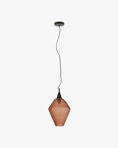 Cosmic pendant lamp brown