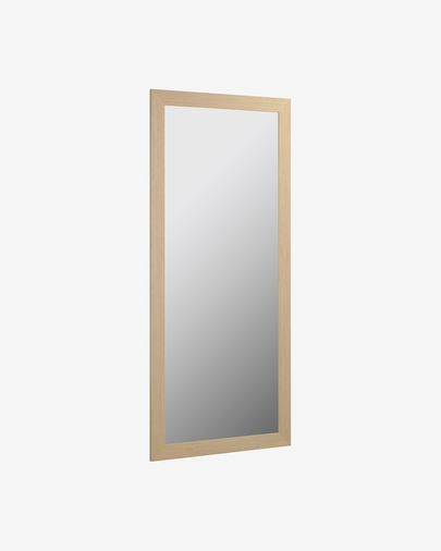 Yvaine mirror wide frame natural finish 80,5 x 180,5 cm