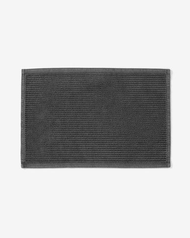 Miekki bath mat dark grey