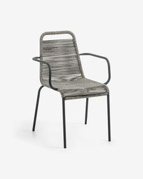 Lambton armchair grey