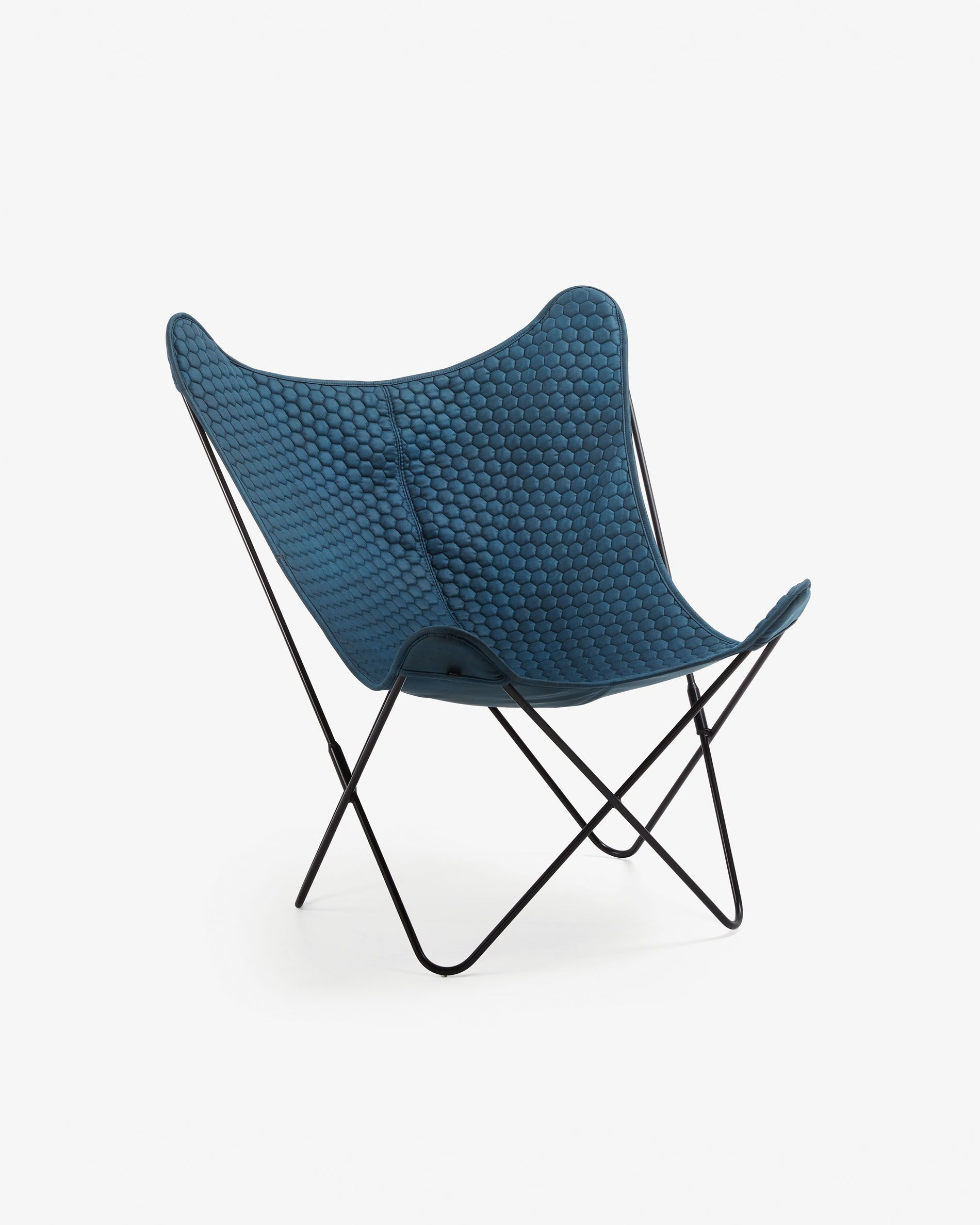 Fauteuil Fly Bleu Kave Home