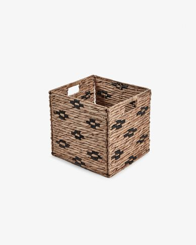 Wooland basket in black