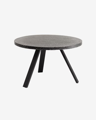 Shanelle black table Ø 120 cm