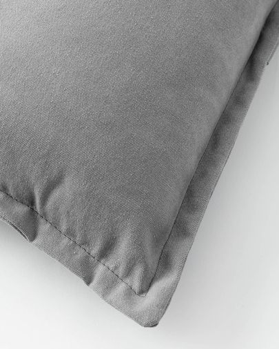 Lisette cushion cover 45 x 45 cm in grey