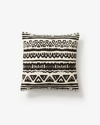 Cushion cover Seward black white