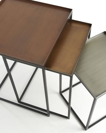 Vinker F set of 3 nesting tables