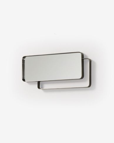 Wit mirror pewter