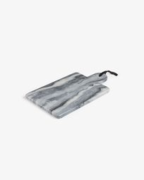 Bergman rectangular chopping board grey marble